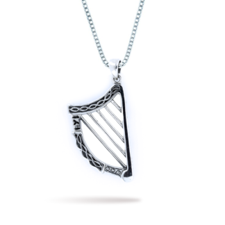 Sterling Silver Irish Pendant -
