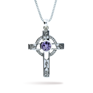 ladies_gemstone_cross_with_amethyst