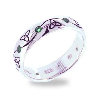 ladies_thin_trinity_knot_ring