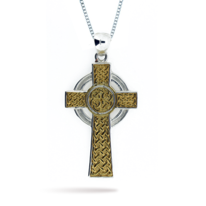 mens_two_tone_double_sided_celtic_cross