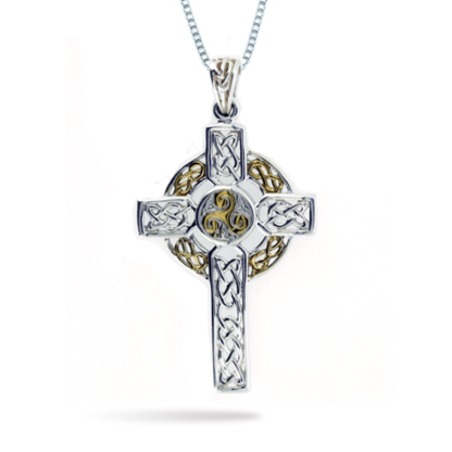 two_tone_celtic_cross_with_triskelle