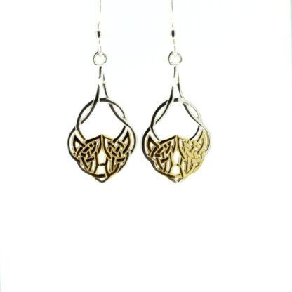 two_tone_healing_knot_earrings